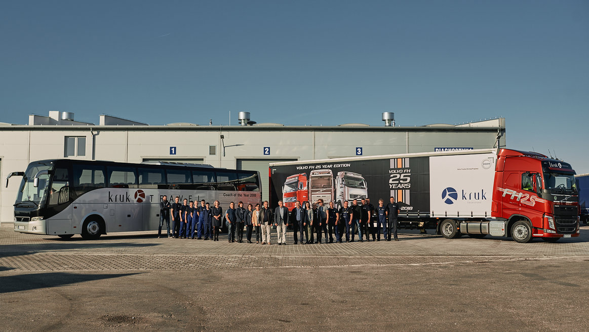 Kruk Transport - Ambasador Volvo Trucks