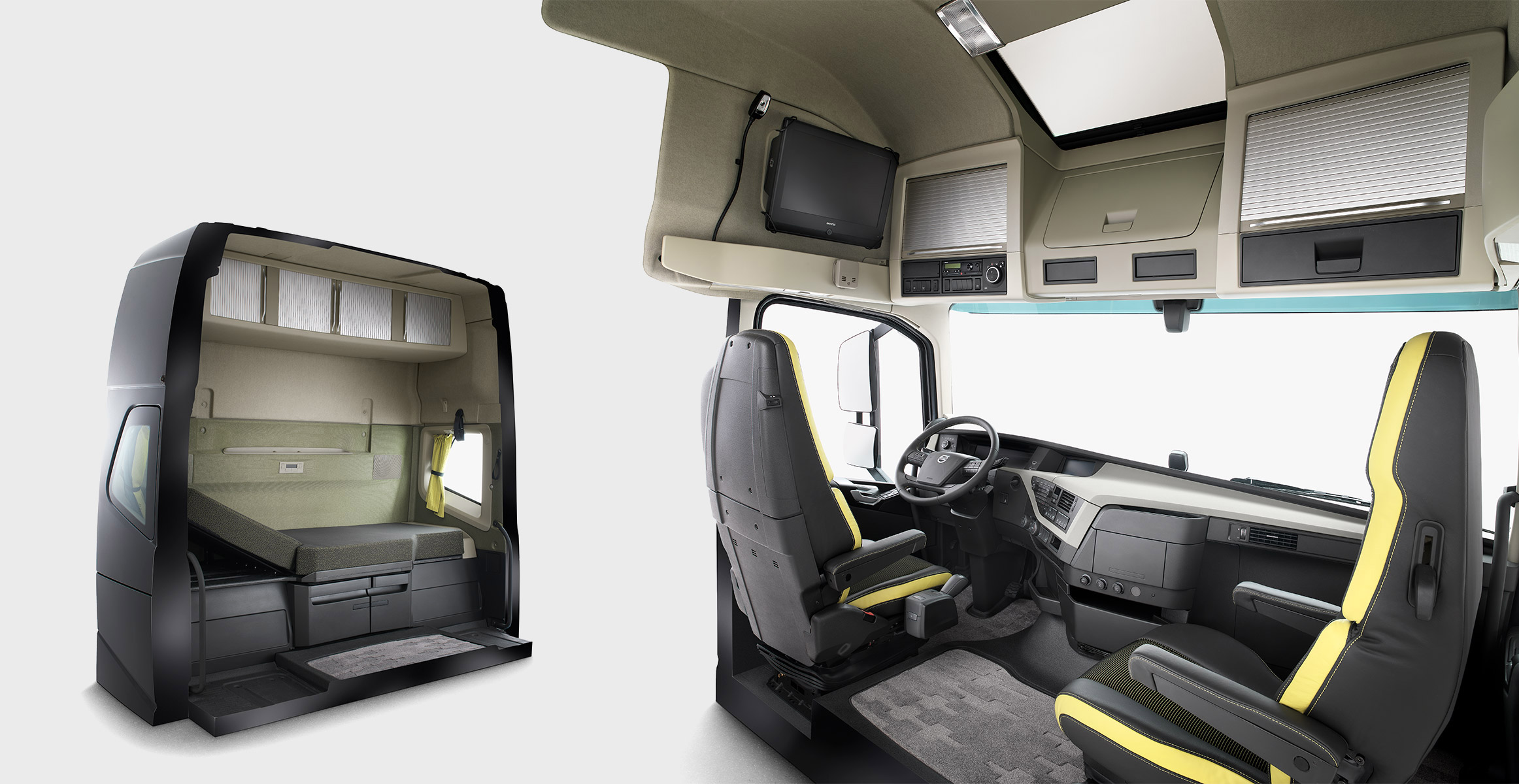 W Ultra Volvo FH16 – A cab interior with space and comfort | Volvo Trucks NI39