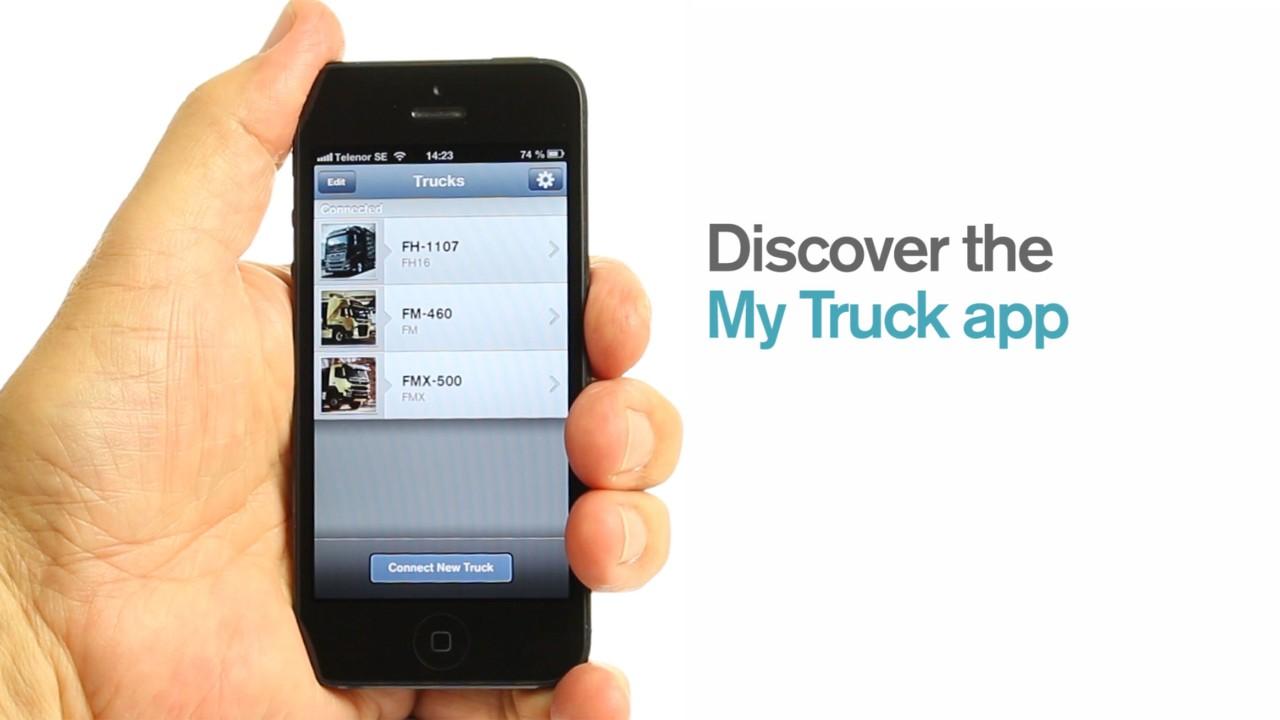 Volvo Trucks My truck app video new